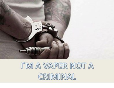 I´m a vaper not a criminal